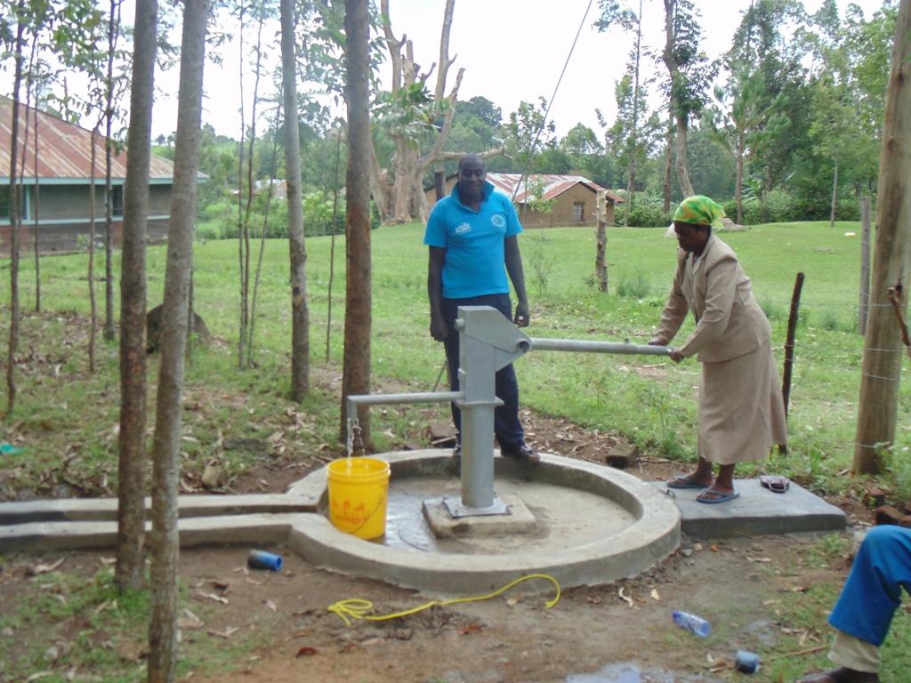 Ebumwende Community Well Rehabilitation Project