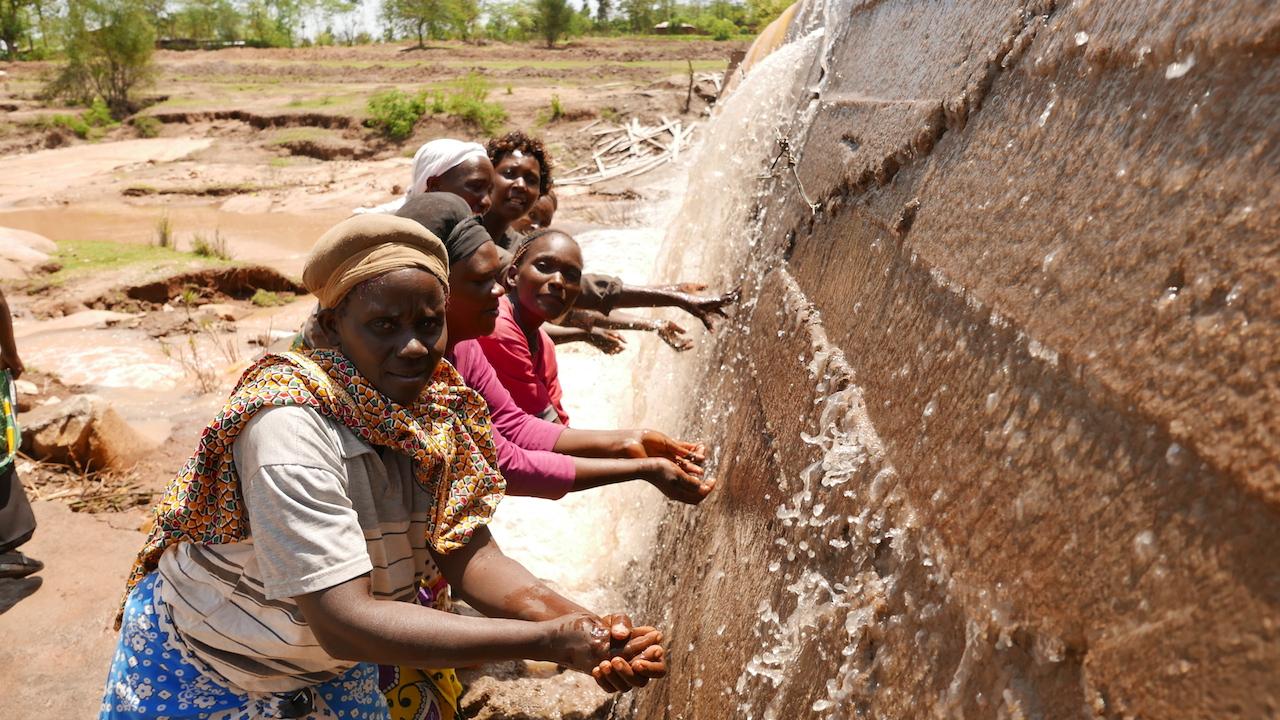 Musunguu Self-Help Group Sand Dam Project