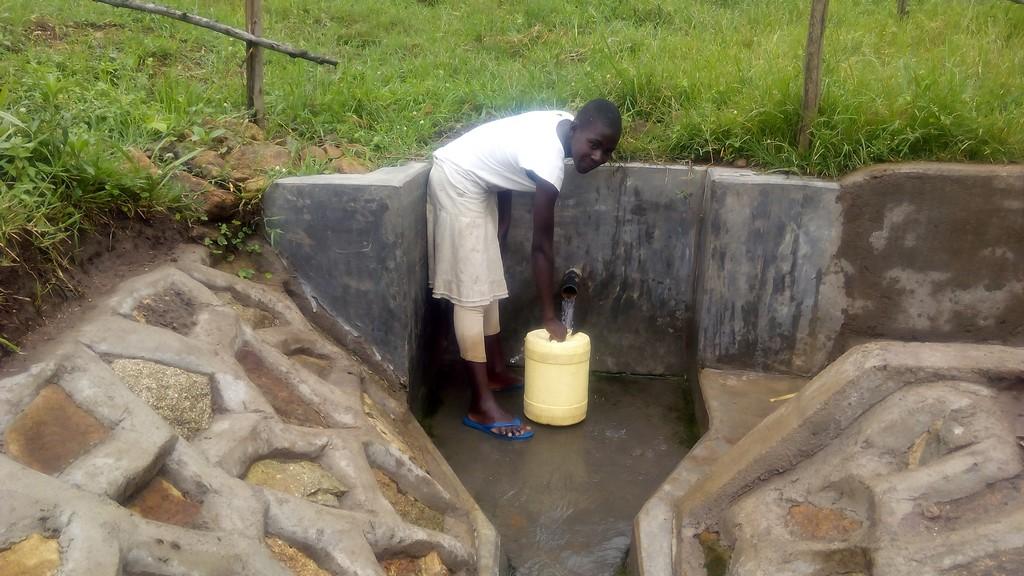 Mundoli Spring Protection and Sanitation Project