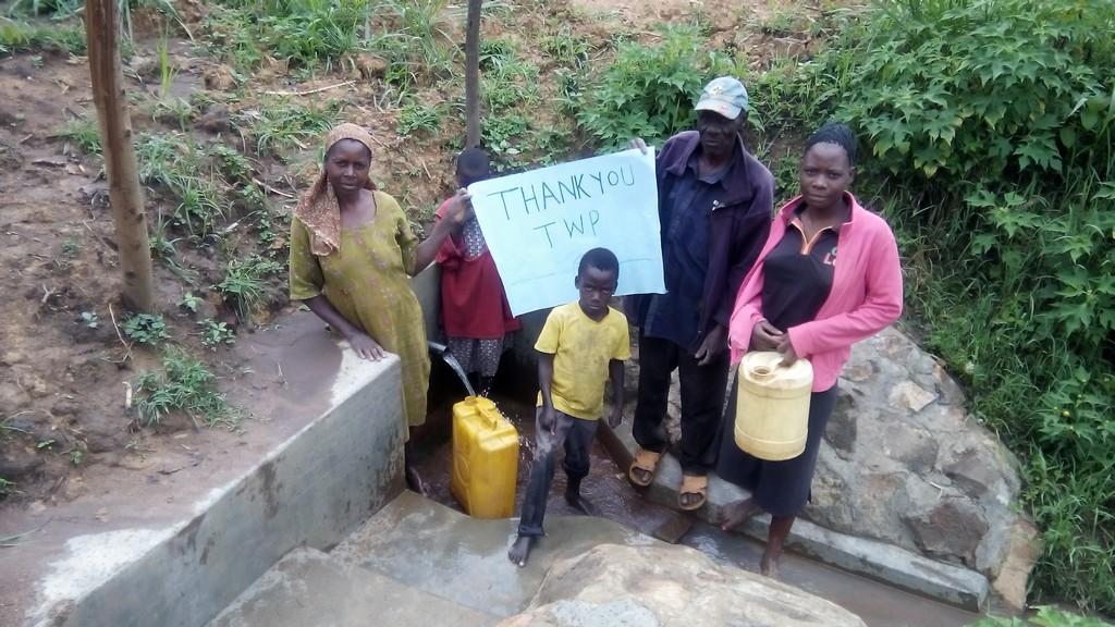 Namburu Spring Protection and Sanitation Project