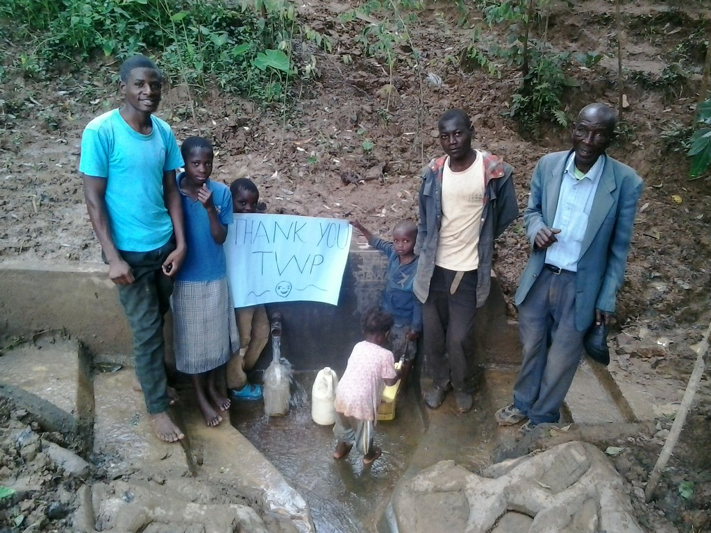 Laurence Induli Spring Protection and Sanitation Project