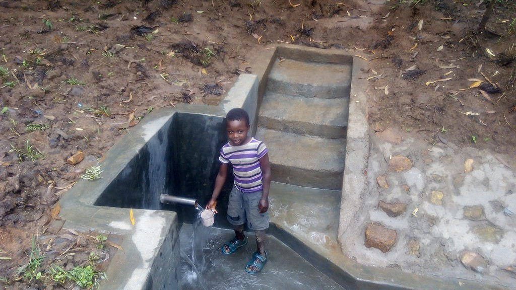 Emuyokha Spring Protection and Sanitation Project