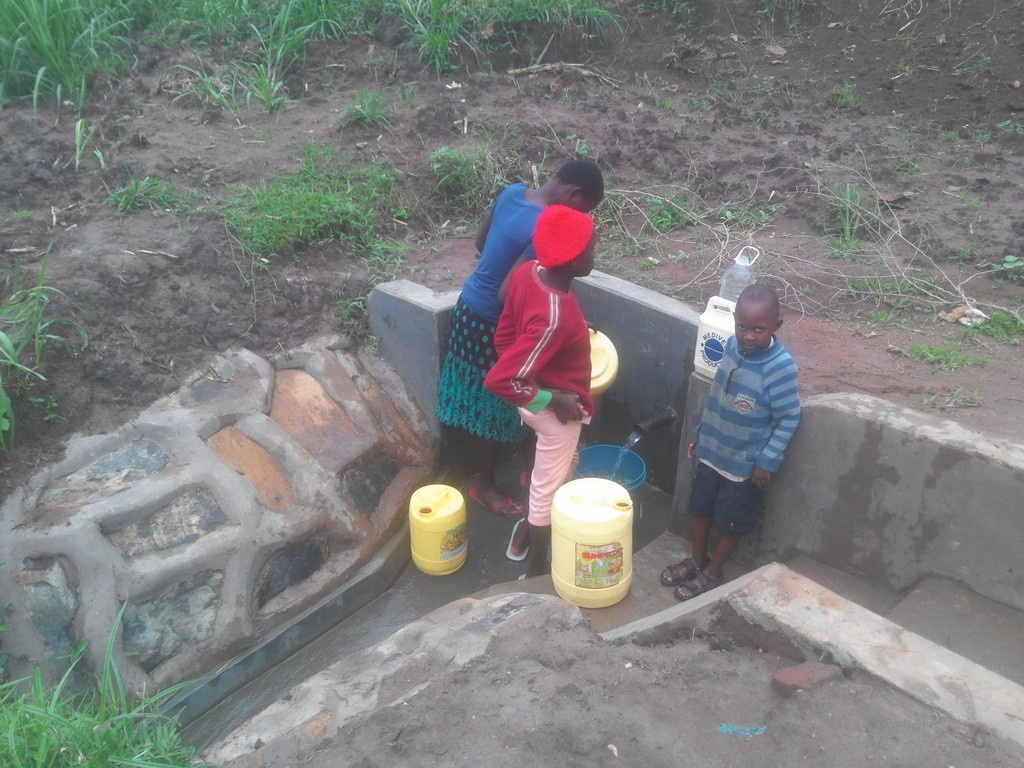 William Katui Spring Protection and Sanitation Project