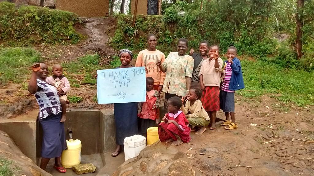 Munanga Spring Protection and Sanitation Project
