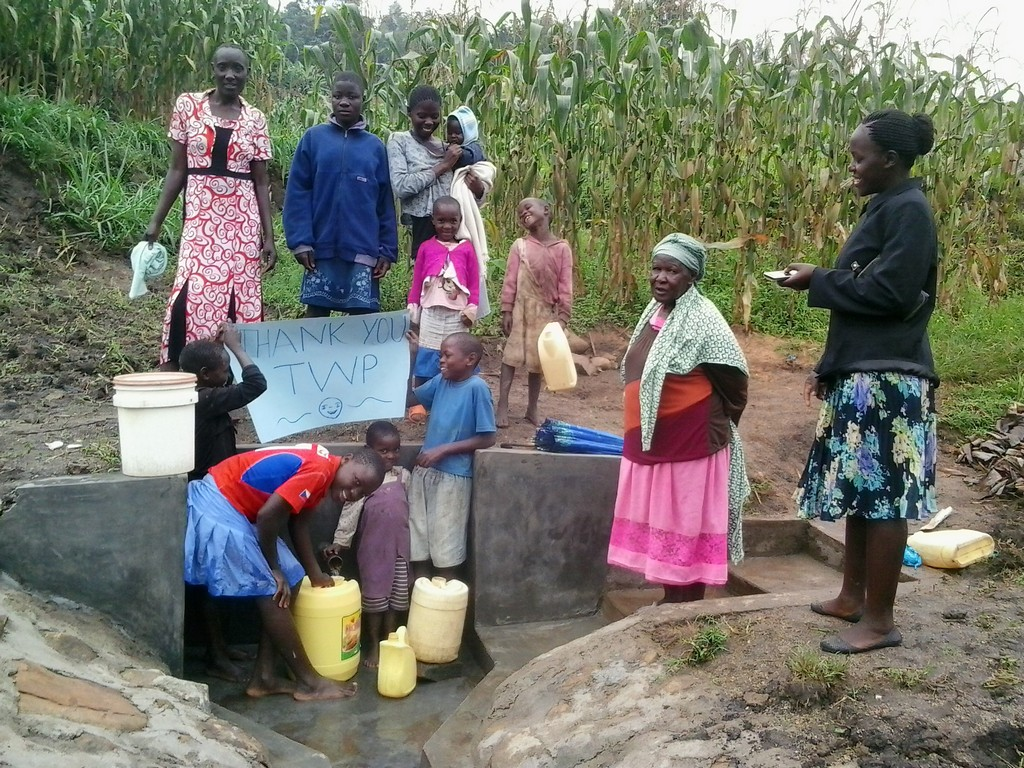 Eshitirira Spring Protection and Sanitation Project