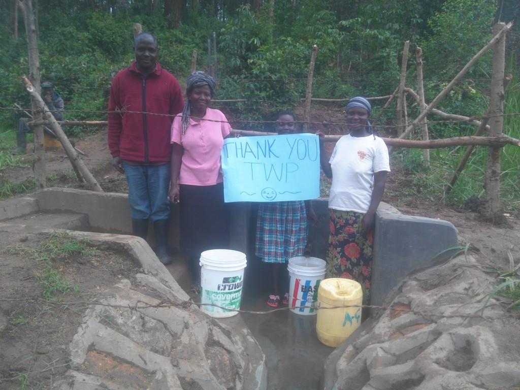 Asatsa Spring Protection and Sanitation Project