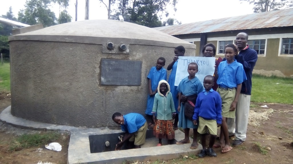 Muraka Primary School Water Tank and Latrine Project