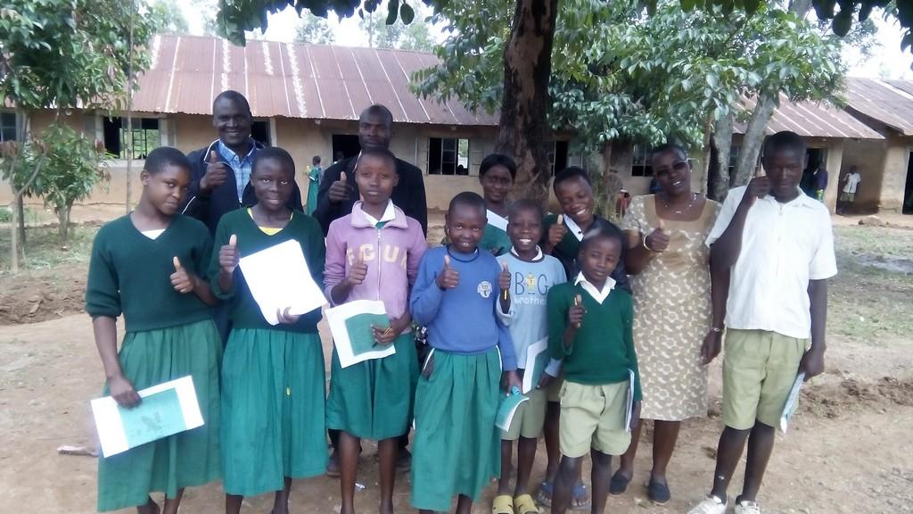 Esibakala Primary School Water Tank and Latrine Project
