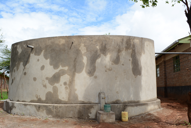 Nguu Secondary School Rainwater Harvesting and Sanitation Project