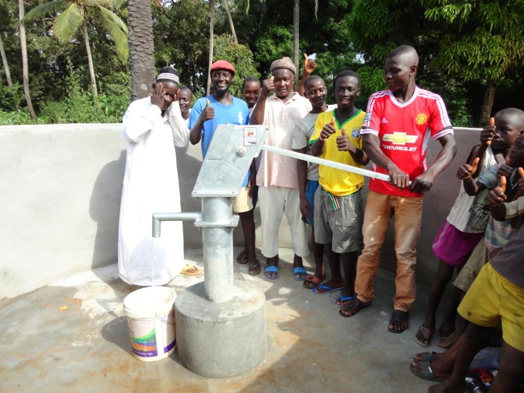 Kagbanthama Village New Well Project